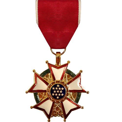 A Legion of Merit medal